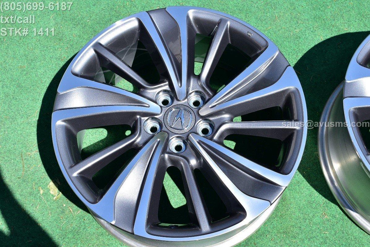 "20"" Acura MDX OEM Factory Wheel 2017 TAKE OFF 5x120 42700-TZ5-B21"