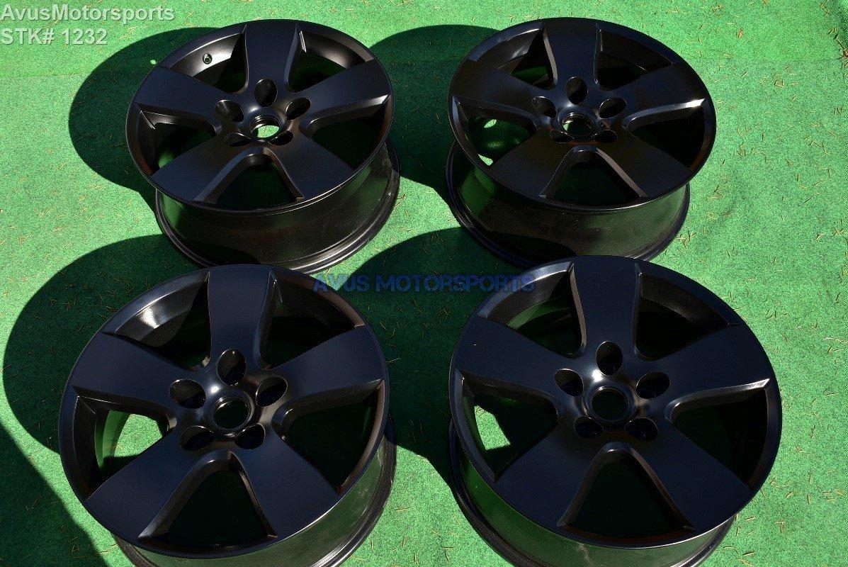 "20"" Dodge Ram OEM 1500 Factory Wheels Powder Coated Satin Black Dakota"