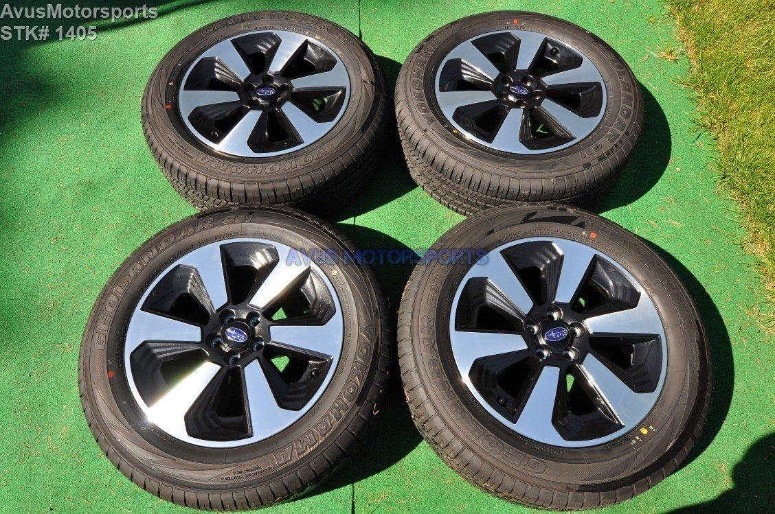 "2017 Subaru Forester OEM 17"" Factory Wheels P225/60R17 Tires S04701"