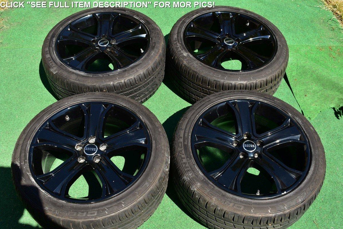 "20"" Range Rover Sport OEM Wheels Style-6 Tires 2012 2013 2014 2015 Land"