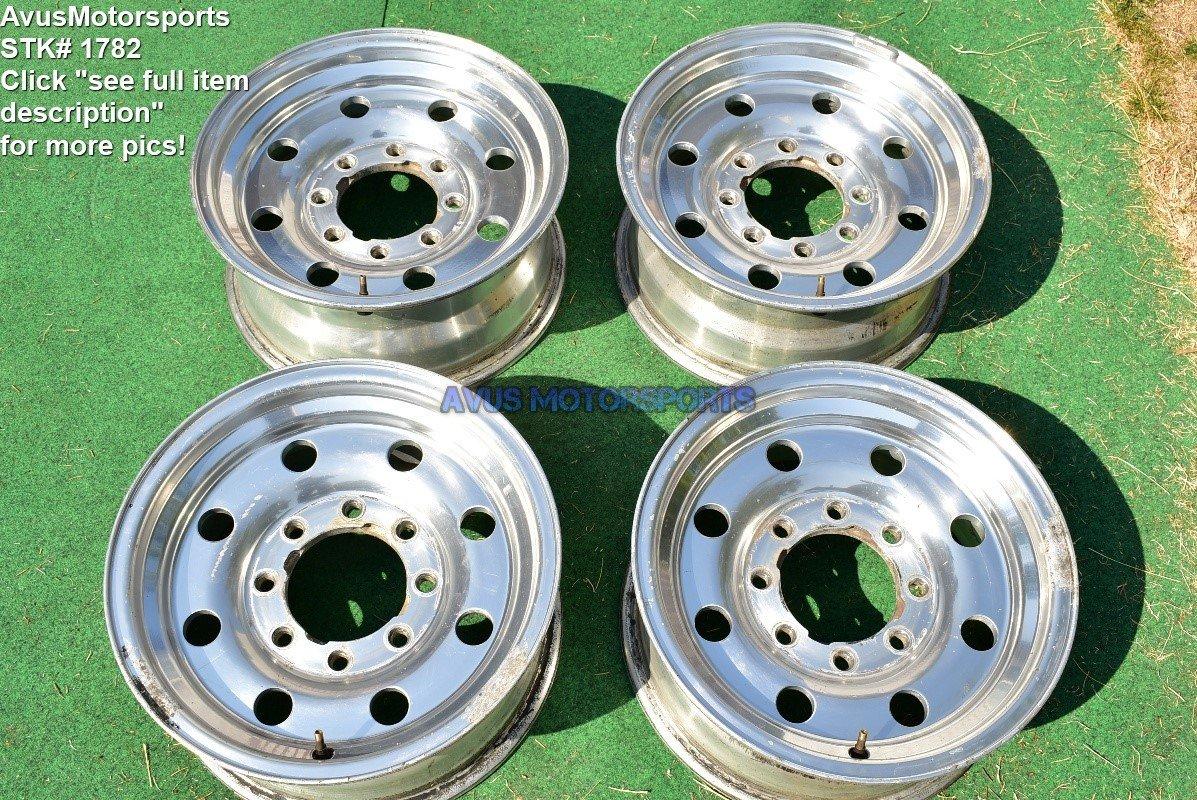 """Ford F250 Heavy Duty 16"""" OEM Factory Alcoa alloy Wheels F350 VAN E150 E250 E350"""