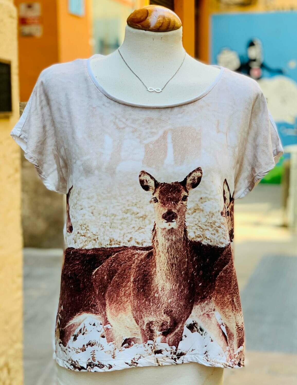 "Camiseta sueltita ""BAMBI"""