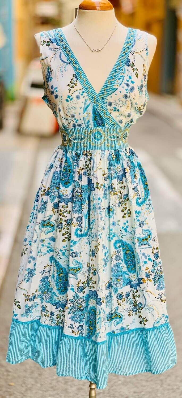 "Vestido veraniego ""LIRIOS"""