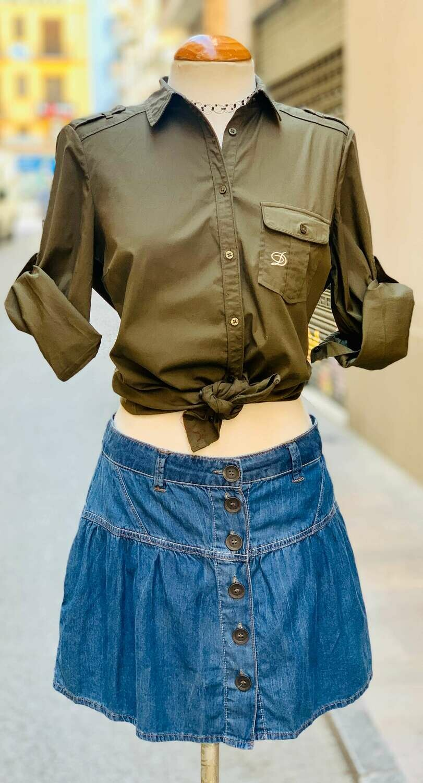 Camisa mangas 3/4 MASSIMO DUTTI