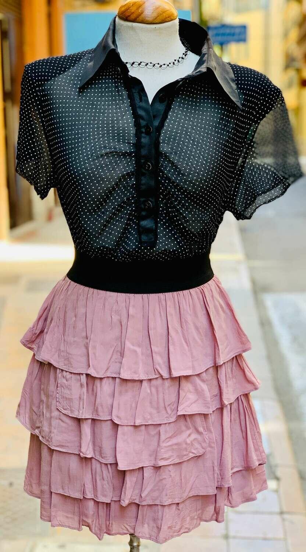 """Falda de volantitos """"WATERMELON"""""""