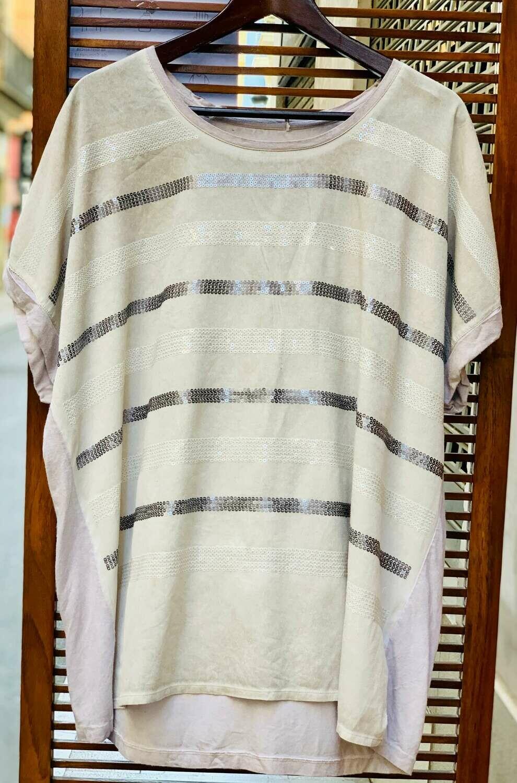 *NEW* Camiseta lentejuelas (TG)