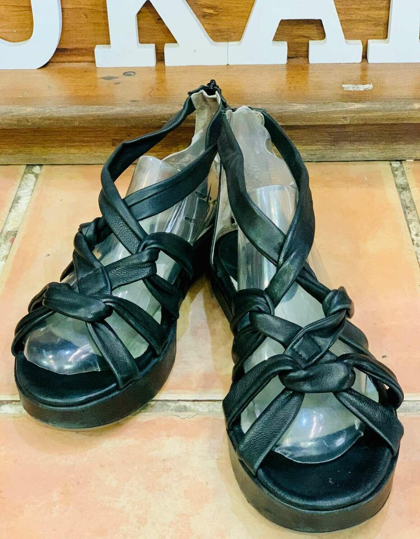 Sandalias de piel tipo romanas talla 39/40