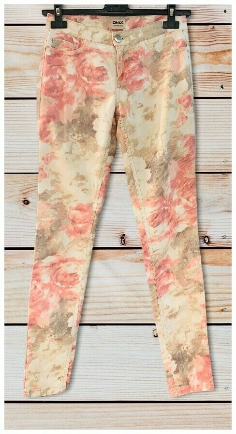 "Pantalon floreado ""ONLY"""