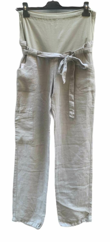 Pantalon de lino premamá