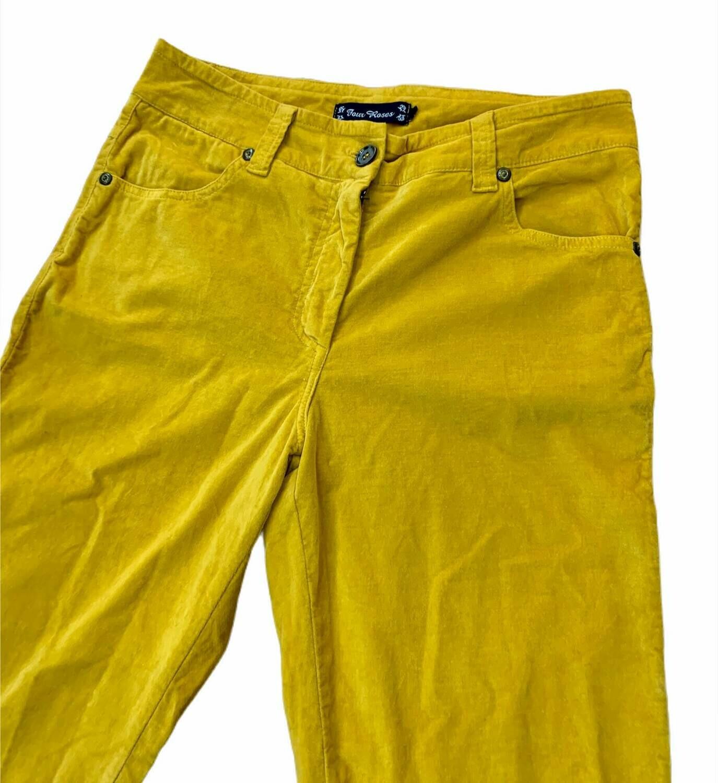 "Pantalon de pana mostaza ""LENNY"""