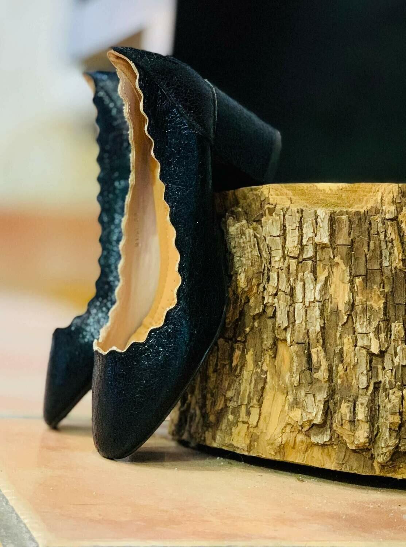 Zapatos de tacón cuadrado (NUEVO)