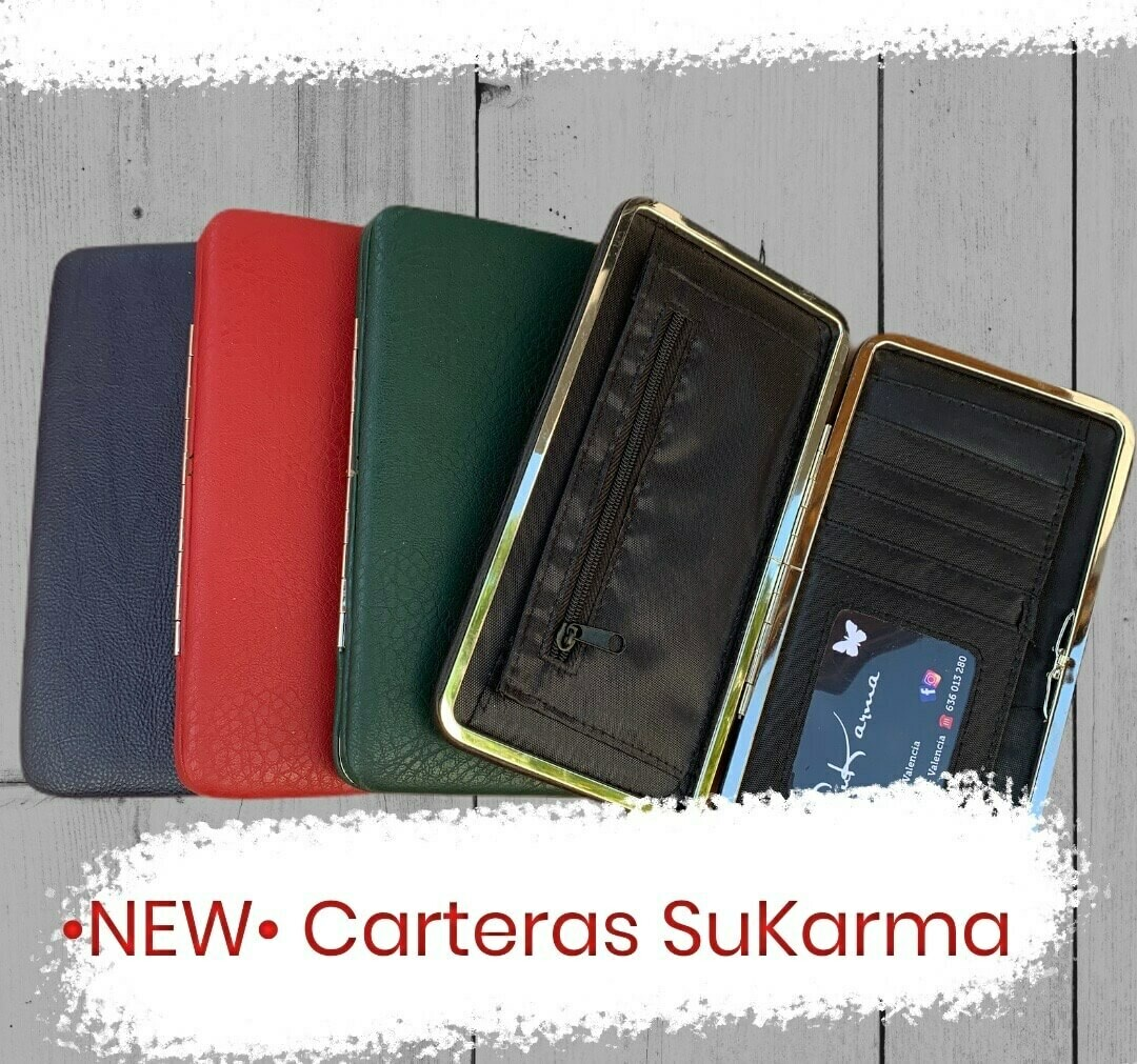 "Cartera/billetera ultra slim ""SuKarma"""