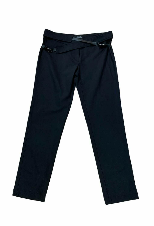 Pantalon de vestir con cinturones