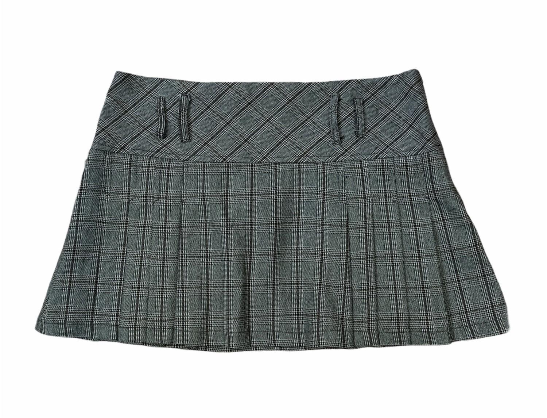 Mini falda colegiala