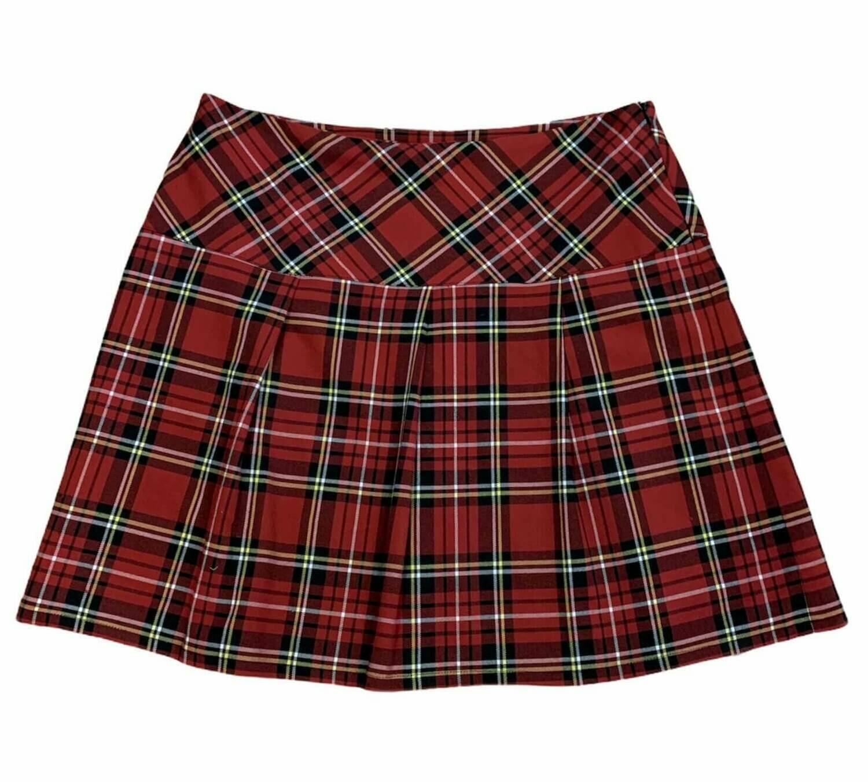 Falda de cuadros tipica escocesa (TG)