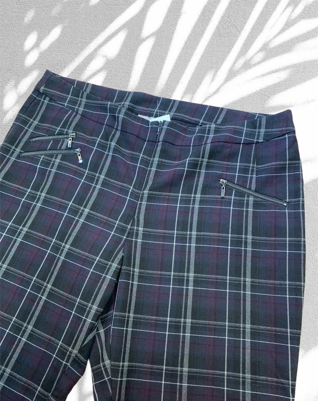 Pantalón de vestir de cuadros (TG)