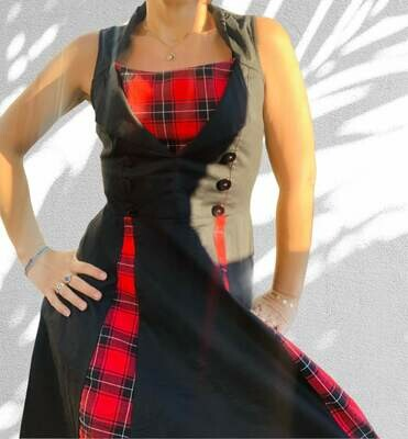 **HALLOWEEN** Vestido tipo steampunk
