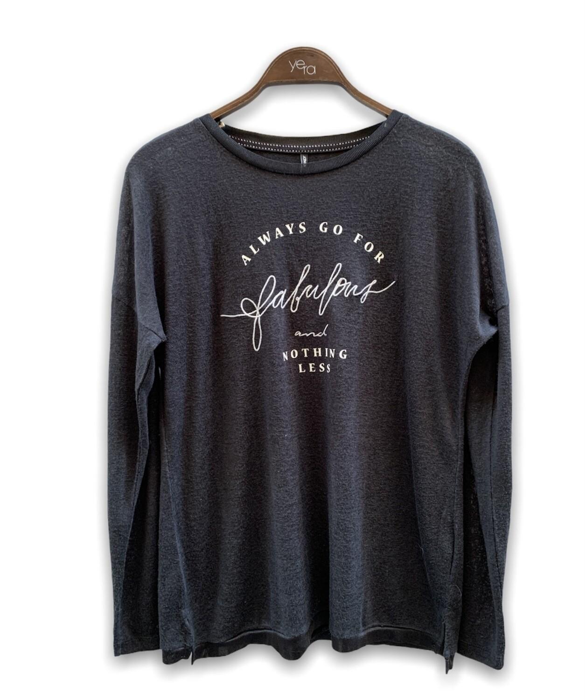 "Camiseta gruesa ""FABULOUS"" ONLY"