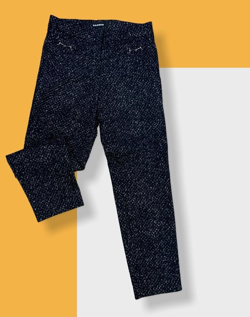 Leggings de vestir jaspeado T38  **R**