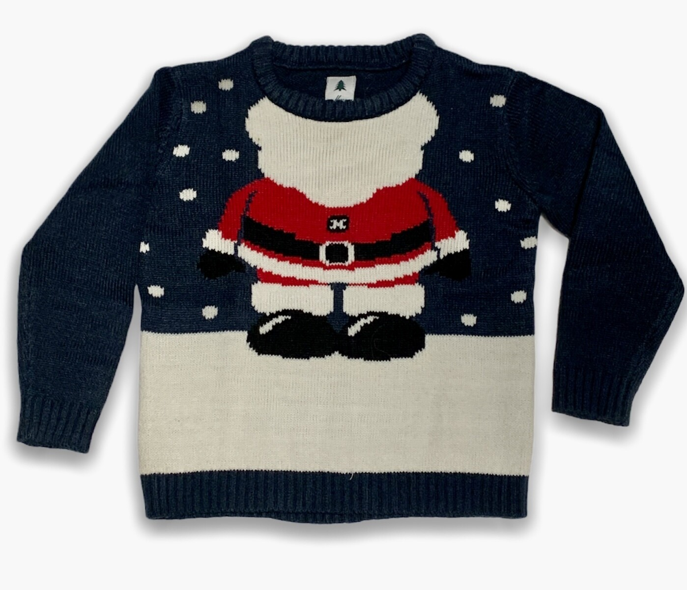 "X-MAS- Sweater navideño bebé ""MINI SANTA"""