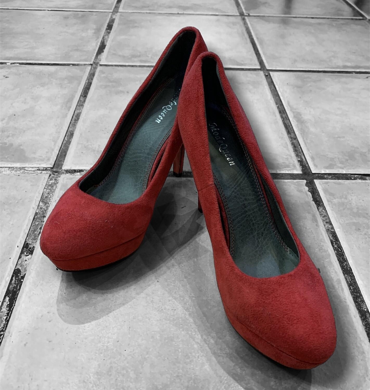Zapatos de tacón con plataforma T40