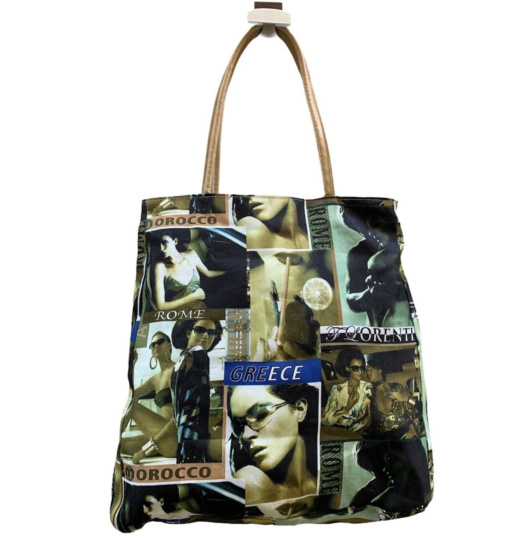 Bolso de hombro de tela / shopping bag **R**