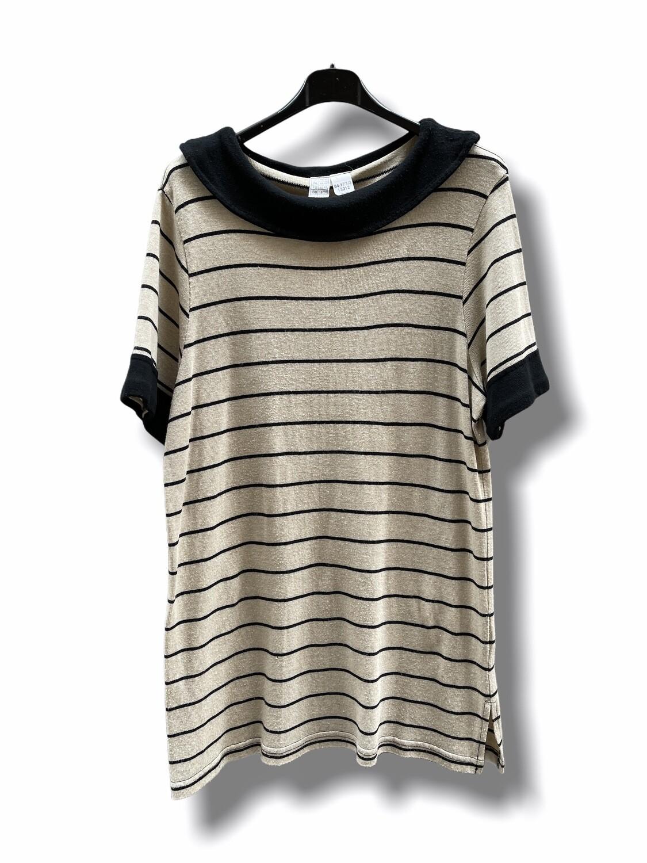Camiseta larga de punto de manga corta (TG)