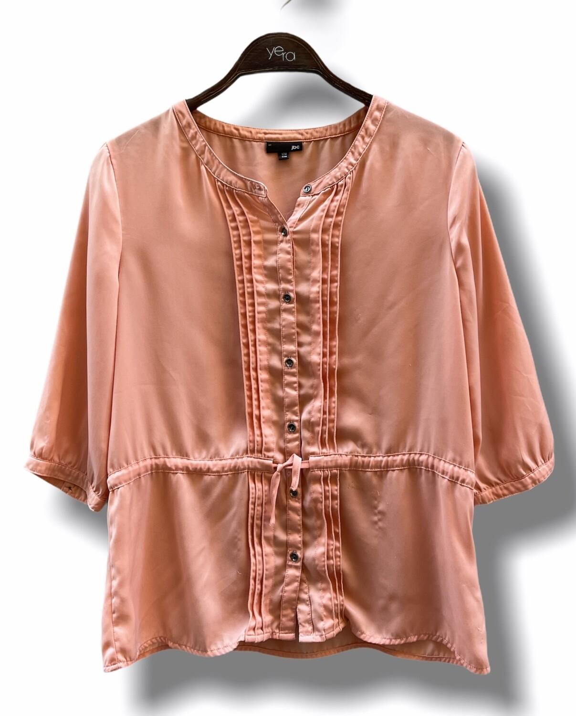 Blusa estilo vintage de sedita