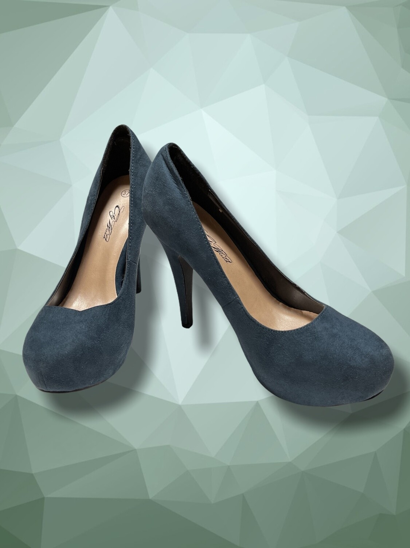 Zapatos de tacón con plataforma T37