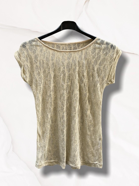 Camiseta de manga corta de punto