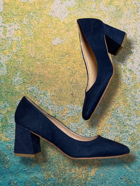 "Zapatos de tacón grueso ""MARYPAZ"" T36"