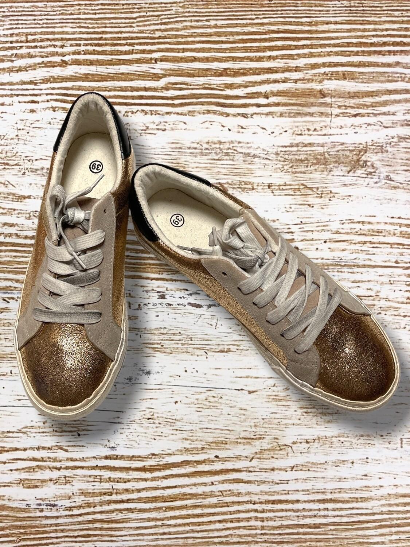 Zapatillas doradas T39