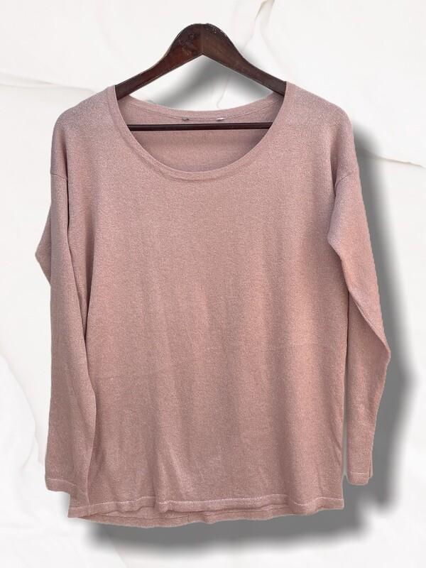 **COMBI 5** Sweater finito de lurex