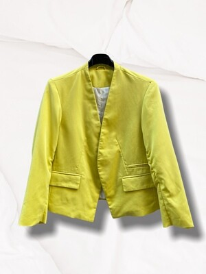 *NEW* Chaqueta americana amarillo limón