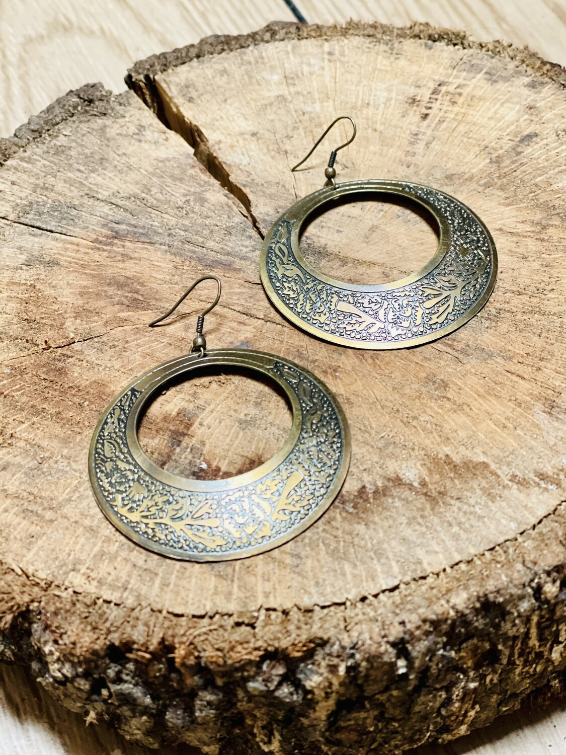"""Pendientes bronce """"GIPSY"""""""