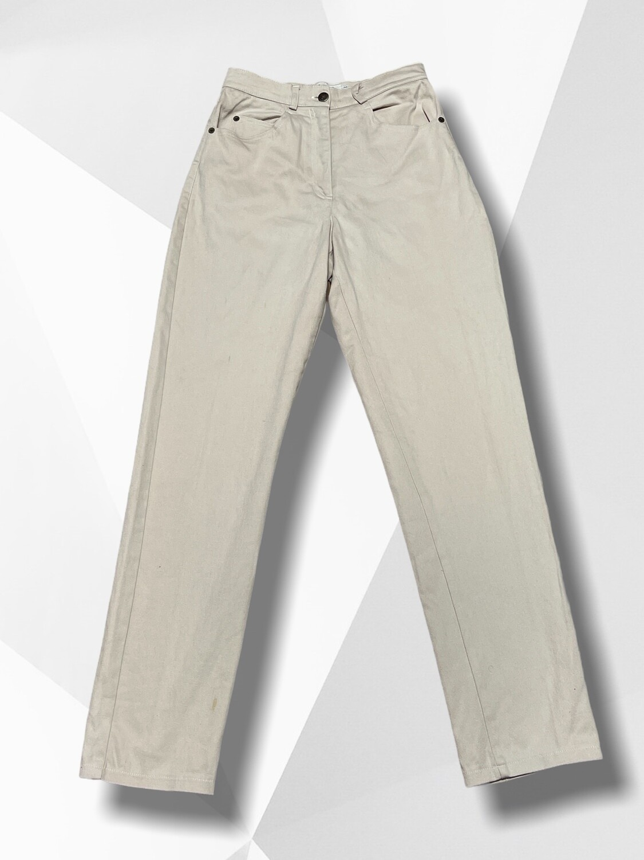 *NEW** Pantalón vaquero recto corte vintage de cintura muy pequeña T36