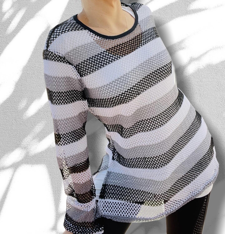 Sweater caladito rayas