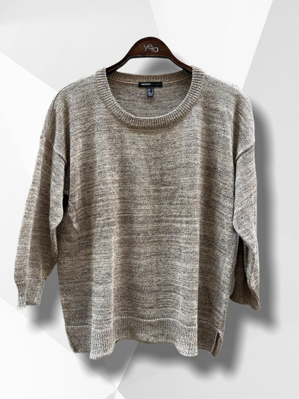 Sweater de hilo con lurex