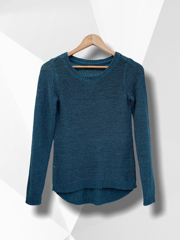 **ESCAPARATE** Sweater de hilo básico turquesa ONLY