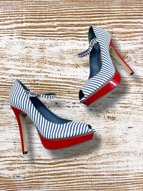 """Zapatos de tacón marineros """"BUFFALO LONDON"""" T37"""