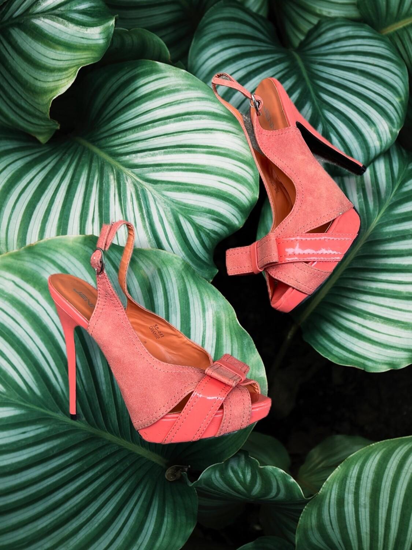 Zapatos de tacón con lacito T38