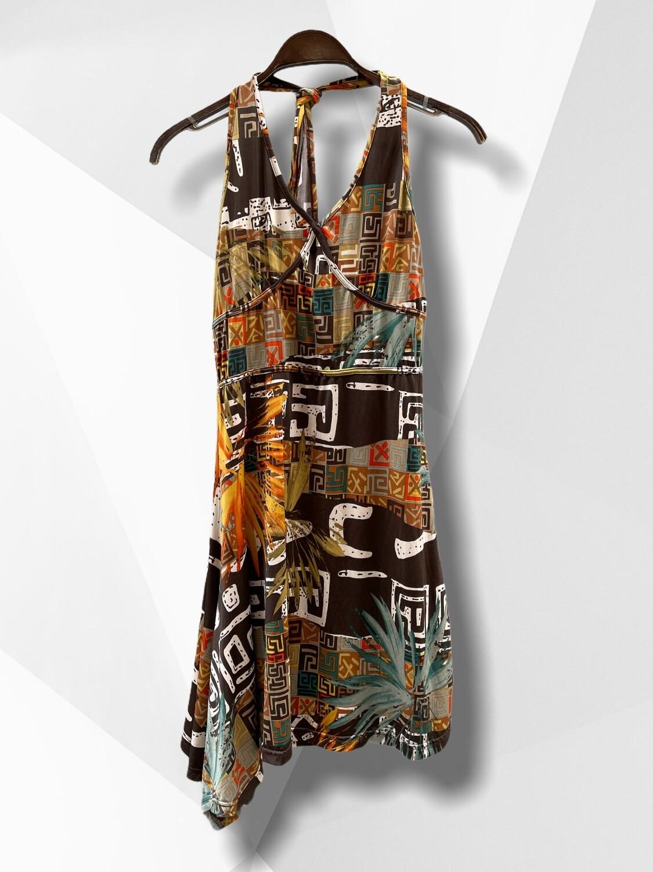 Vestido veraniego atado al cuello