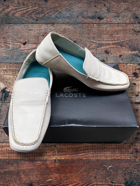 """**NUEVO** Zapatos náuticos """"LACOSTE"""" (NUEVOS) T41"""