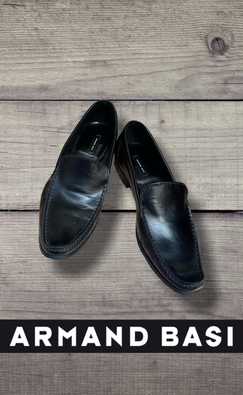 """**NUEVO** Zapatos de hombre """"ARMAND BASI"""" negros (NUEVOS) T45/46"""