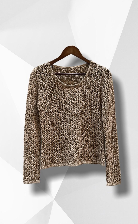 Sweater de hilo finito caladito