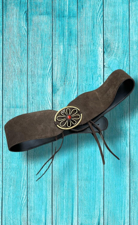 Cinturón ancho tipo fajín