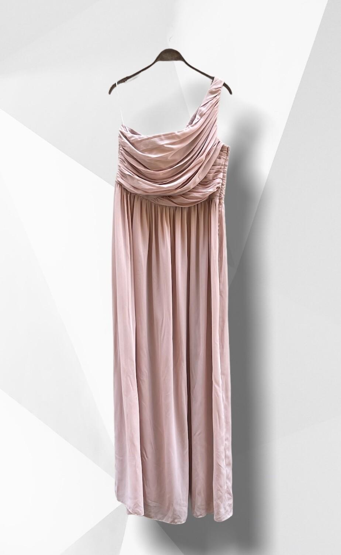 Vestido de ceremonia de un solo hombro (TG)