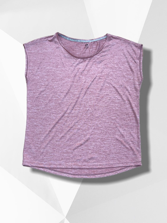 *SPORT* Camiseta deportiva malva H&M SPORT (TG)