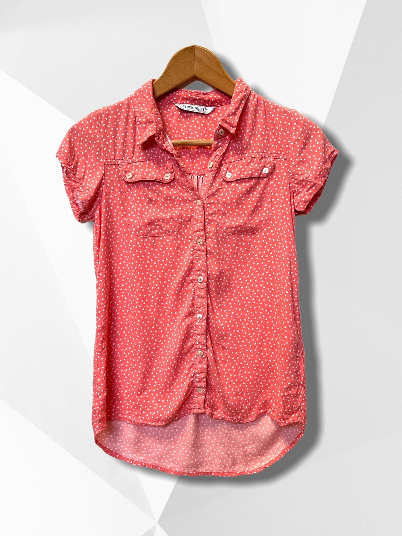 *COMBI 6* Camisa de manga corta de corazoncitos