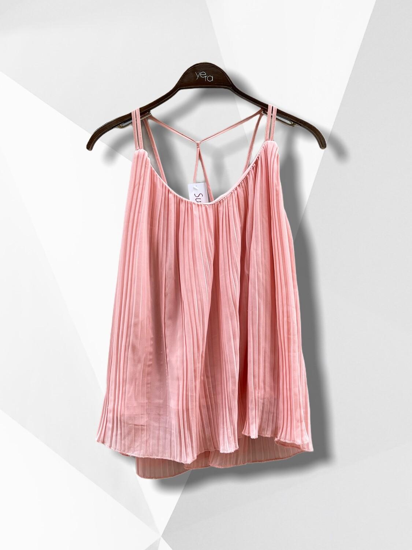*NEW* Top plisado rosa